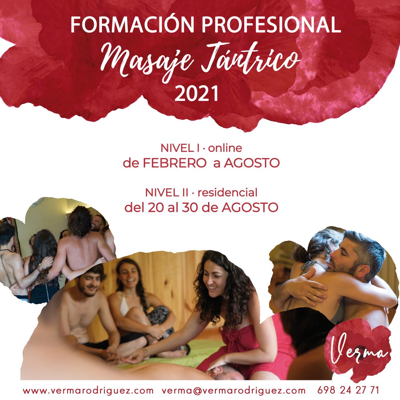 Formación Profesional de Masaje Tántrico 2022